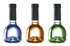 Free Funny Colored Bottles Royalty Free Stock Photo - 3488815