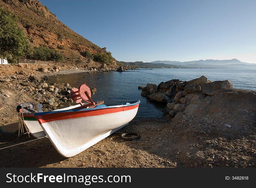 Cretan Fishing Boats