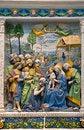Free Andrea Della Robbia — Adoration Of The Magi Royalty Free Stock Photos - 34809218