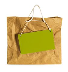 Free Wrinkled  Paper Bag Royalty Free Stock Image - 34800576
