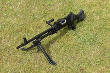 Free Machine Gun. Royalty Free Stock Images - 34800649