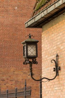 Free Decorative Lamppost Stock Image - 34801661