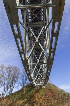 Free Railway Bridge Over The River Stock Photos - 34802053