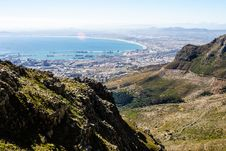 Free Cape Town Harbour View Royalty Free Stock Photography - 34802767