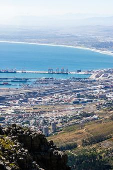Free Cape Town Harbour Royalty Free Stock Image - 34803036