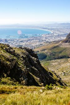 Free Cape Town Harbour Royalty Free Stock Photo - 34803045