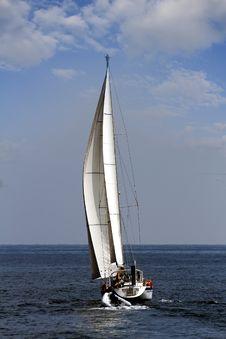 Free Sailing Boat Stock Image - 34805111