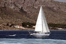 Free Sailing Boat Stock Image - 34805251