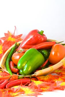 Free Color Peppers Royalty Free Stock Photo - 34808675