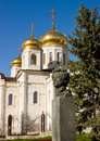 Free Monument Pushkin And Russian Church. Stock Photography - 34810882