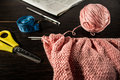 Free Knitting, Needlework Royalty Free Stock Photography - 34811637