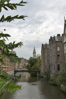 Free Canal In Ghent Stock Images - 34814614