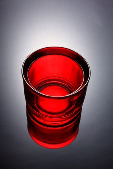 Free Red Glass Royalty Free Stock Photography - 34815057