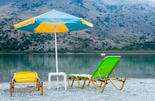 Free Beautiful View Of The Lake In Greece, Crete Royalty Free Stock Images - 34816149
