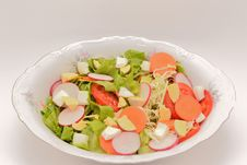 Free Vegetable Salad Stock Photography - 34817582