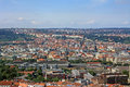 Free Prague From Above Stock Photo - 34824610