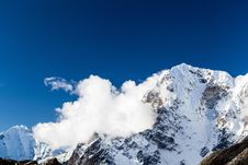 Free Himalaya Mountains, Nepal Royalty Free Stock Photo - 34821465