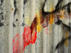 Free Grafitti And Rust Stock Photography - 34824612