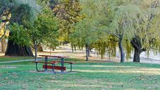 Free Wooden Bench Stock Photography - 34825452