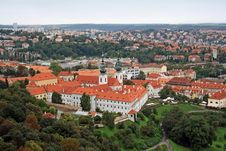 Free Strahov Monastery Royalty Free Stock Photo - 34825995