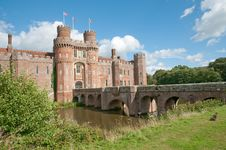 Free Banks Of The Castle Royalty Free Stock Images - 34828219