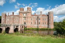 Free Sun On The Castle Stock Images - 34828834