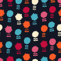 Free Seamless Bright Floral Pattern Royalty Free Stock Images - 34833199