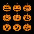 Free Pumpkin On Halloween Stock Photography - 34836162