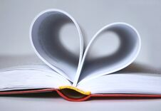 Book Heart Royalty Free Stock Image