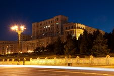 Free Palace Of The Parliament, Bucharest Stock Photography - 34851382