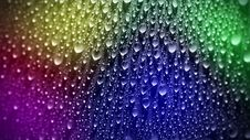 Free Multicolored Drops Royalty Free Stock Photography - 34855097