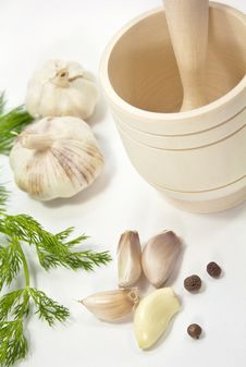 Free Garlic And Pepper Royalty Free Stock Photo - 34855325