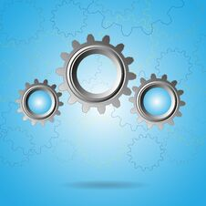 Free Gears Royalty Free Stock Image - 34856206