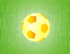 Free Soccer Ball Royalty Free Stock Photography - 34856277