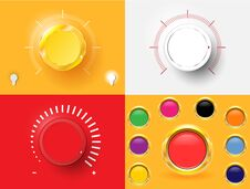 Free Volume Control Royalty Free Stock Images - 34857089