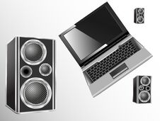 Free Loudspeakers Royalty Free Stock Images - 34857139