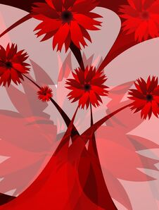 Free Flowers Red Royalty Free Stock Image - 34857376