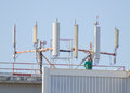 Free Six Cellular Towers Stock Images - 34863244