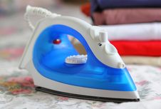 Free Steam Iron Stock Photos - 34860573