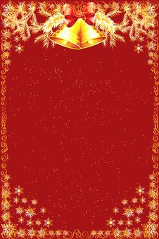 Free Christmas Red Background Stock Images - 34860594