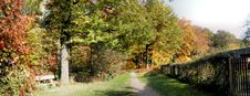 Free Panorama In Autumn Royalty Free Stock Photography - 34861327