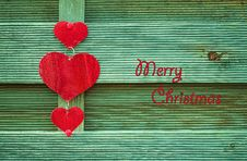 Free Christmas Card Royalty Free Stock Photos - 34861618