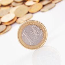 Free EU &x28;European Union Coins&x29; Stock Photography - 34862002