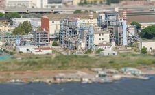 Free Aerial View Of Refinery Factory. Stock Photo - 34863240