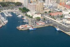 Free Aerial View Of Port Royalty Free Stock Image - 34863266