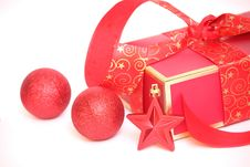 Free Christmas Gift Stock Photography - 34867052