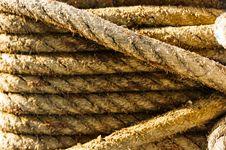 Free Rope On Ship Stock Image - 34867381