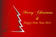 Free Red Christmas Background Stock Photography - 34868592