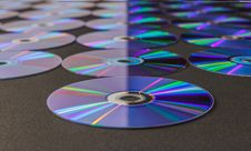 Free CD Or DVD Disc Royalty Free Stock Images - 34869949