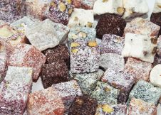 Free Turkish Delight Stock Photography - 34870432